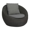 Loungesessel in schwarz, Anny by Stern