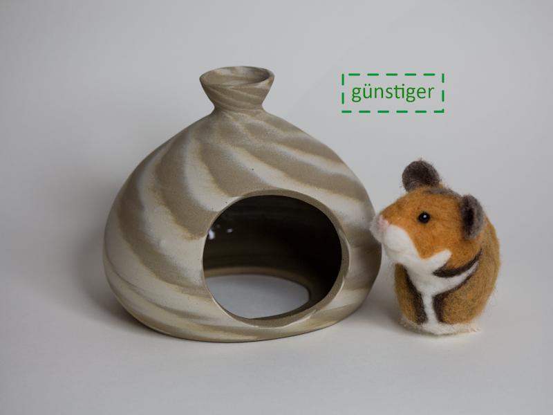 Hamsterversteck marmoriert 1