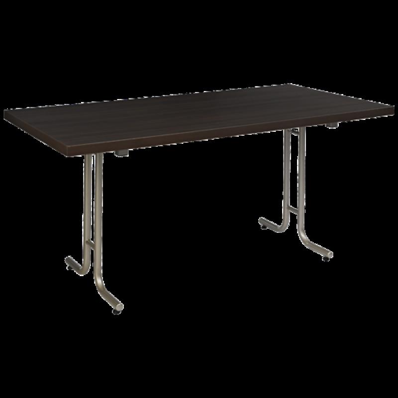 PREMIUM CFTS Klapptisch mit aufgedoppelter Tischplatte und T-Fuss-Gestell