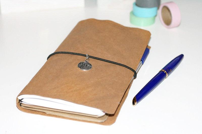 SnapDori Vegan / Notizbuch Travel Journal Ifidori versch. Größen