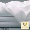 TB200 Hotel-Feinbettlaken aus Mischgewebe weiß/farbig