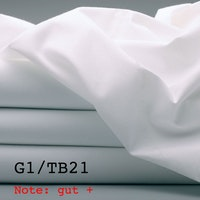 G1/TB21 Hotel-Bettlaken 100% Baumwolle, Note: gut+