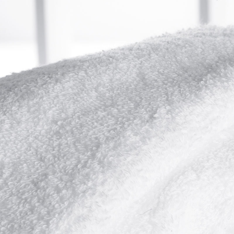 COMFORT 425 g/qm Walkfrottier ohne Bordüre glatt weiß