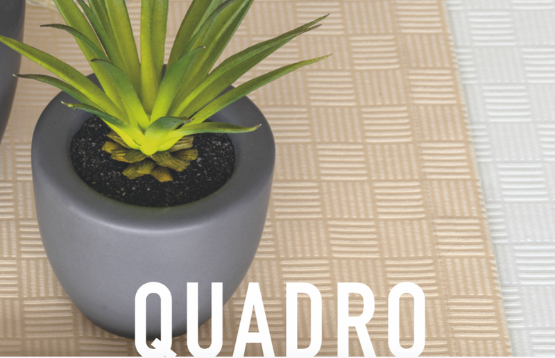 Quadro Raffiniertes stäbchenkaro – zeitlos modern von Pichler