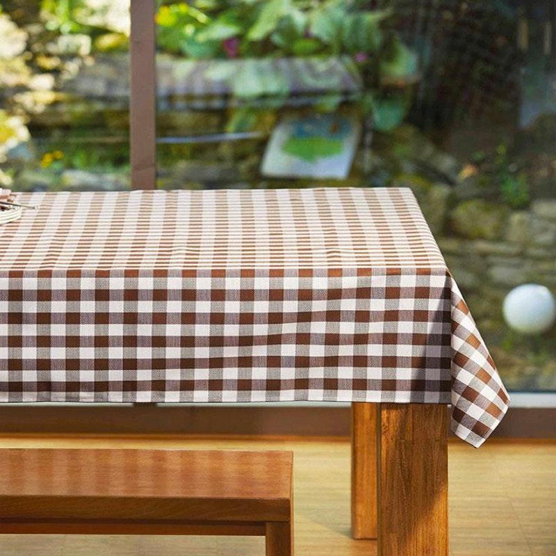 NAPOLI karierte Tischwäsche (kleines Karo)