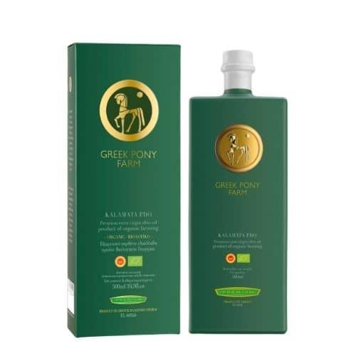 Greek Pony Farm Organic Kalamata Olivenöl