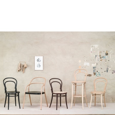 Bugholzstuhl, Wiener Kaffeehausstuhl Nr. 14 von TON