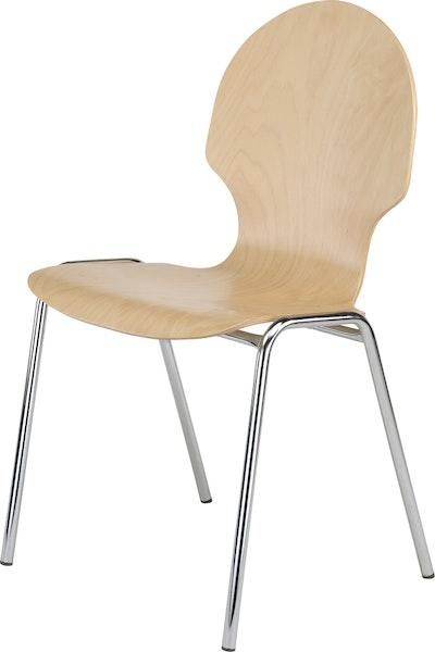 Holzschalenstuhl Multipla ST4