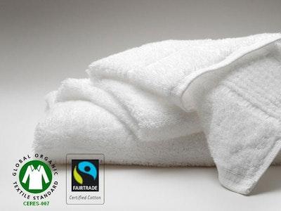 800g/qm Badematte SAMOA in Bio-Zwirnfrottier - GOTS zertifiziert - weiß