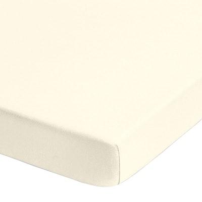 Jersey-Stretch-Spannbetttuch GRANADA 22cm Steg farbig