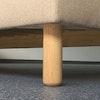 LYONBED Boxspringbett inkl. Matratze (ohne Kopfteil) schnell lieferbar
