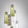 Deckenlampe PERLE mundgeblasenes Muranoglas