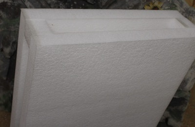 Sandwitch Scheibe 60cm x 60cm x 18cm (0.36m²)
