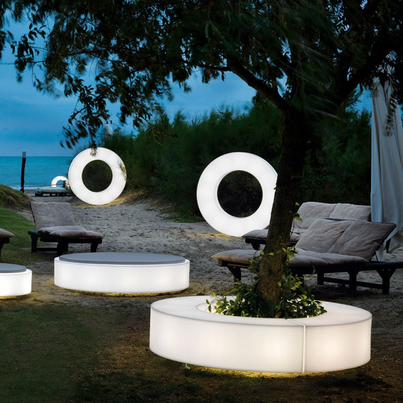 discos outdoor leuchte. Black Bedroom Furniture Sets. Home Design Ideas