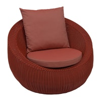 Loungesessel, in Cherry, Anna by Stern