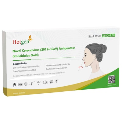 Hotgen Coronavirus 2019-nCoV Antigen Selbsttest für Privatkunden (5er Pack)